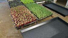 Microgreens DRIP trays (no holes) Australian Made Polyethylene Food Grade