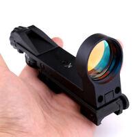 Hunting 1X30 Red Dot Sight Scope Riflescope 20mm Rail For Shotguns Rifles