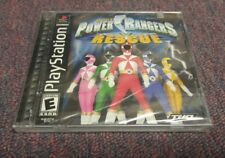 Power Rangers Lightspeed Rescue (Sony PlayStation) PS1 New&Sealed (READ DESCRIP)