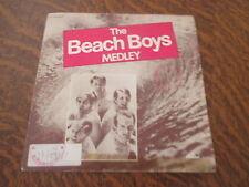 45 tours THE BEACH BOYS medley
