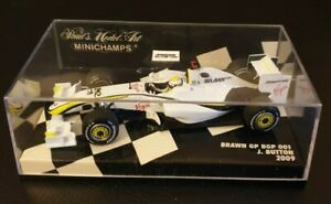 Minichamps 1:43 Jenson Button Brawn GP BGP 001 F1 2009 World Champion 400090022