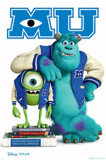 Monsters University - Movie POSTER 60x90cm NEW * MU Mike Sulley Scareonomics