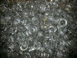 10 Glaskorken, Deko Glas, Flaschenverschluss mit Silikondichtung, Weinkorken