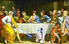 Star Wars  Huge wall Poster  22 inch x 34 inch ( Fast Shipping )
