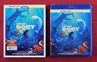 Finding Dory (Blu-ray / DVD 3-Disc Set, 2016) + Slipcover ** No Digital Code ***