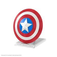 Metal Earth Marvel Avengers Captain America's Shield 3D Laser Cut Model NEW