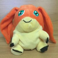 "Digimon Digital Monsters Patamon 7"" Plush Soft Toy Play By Play 1999 Vintage"