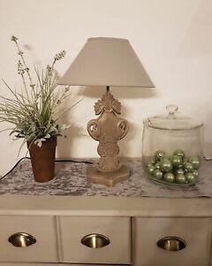 PR Rogiers - Tischlampe aus Mango - Holz natur - China Design 50 x 33cm