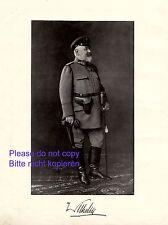 König Wilhelm II. von Württemberg Fotoabbildung von 1916 † Schloss Bebenhausen