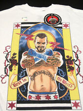 NEW RARE CM Punk WWE Second City Saint / Best In The World T-Shirt - Medium