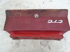 PORSCHE 901 911 912 GLOVE BOX DOOR LOCK LID CENTER SWB 1965 65 66 HANDLE COVER