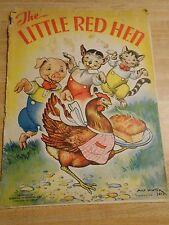 The Little Red Hen. 1937. Milo Winter, Illustrator. Merrilll Publishing, Chicago