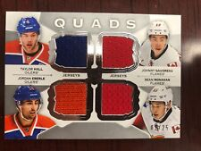 2015-16 The Cup Quads Taylor Hall Eberle Gaudreau Monahan 2/25 sp