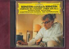 BERNSTEIN-SINFONIA 3-DYBBUK SUITE N.2 CD APERTO NON SIGILLATO