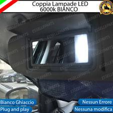 ALETTE PARASOLE A LED PER FIAT TIPO 6000K ALTA LUMINOSITA'