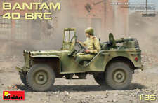 Miniart 35212 1:35th Scale Bantan 40 BRC US jeep with 5 figures