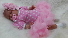 "SUNBEAMBABIES CHILDS REBORN NEW ULTRA REALISTIC LIFELIKE SIZE 20"" BABY DOLL GIRL"