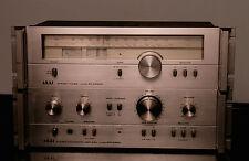 bel ensemble Akai vintage: ampli AM 2250 et tunerAT 2250L.
