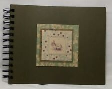 """Carly's Wish Photo Book NEW Spiral 8"""" x 6.5"""" Bunny and Clover 23 pages (46 f/b)"""