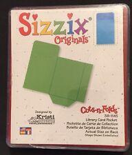 Sizzix Die Library Book Pocket Envelope DieCut Retired Scrapbook Card making HTF