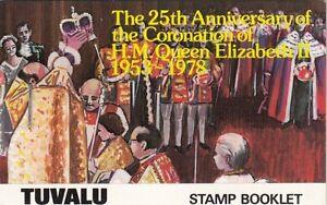(91778) Tuvalu Booklet Coronation 1978
