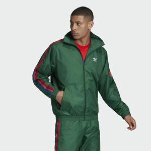 Adidas Originals Men's  3D Trefoil 3-Stripes Track Jacket GE0847