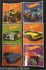 Hot Wheels Stickers x 6  - Birthday Party Loot Ideas Party Hot Wheels Birthday