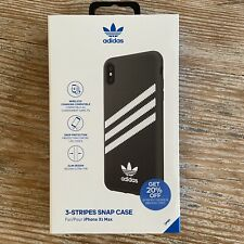 Adidas 3 Stripes Snap Case for IPhone XS Max BLACK