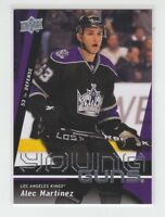 (66486) 2009-10 UPPER DECK ALEC MARTINEZ YOUNG GUNS #231 RC