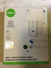 Belkin USB-C Charger, 5 Ft USB-C (USB Type C) to USB-C Charging Cable (3A / 15W)
