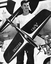 """Model Airplane Plans (UC): ARES 52"""" Stunt for .29-.35 Engines by Bill Werwage"""