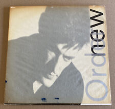 NEW ORDER!! LOW LIFE!! ORIG. 1985 ITALIAN FIRST PRESS IMPORT VINYL LP W/ WRAP!!
