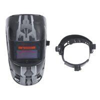 Masque De Soudure Cagoule Casque Soudage Solaire Automatique (Utiliser Ener L9Y6
