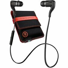 Plantronics BackBeat Go 2 Stereo Bluetooth Headphones + Charging Case- Black