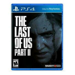 The Last of Us 2 Part II PS4 PlayStation 4 Brand New Sealed