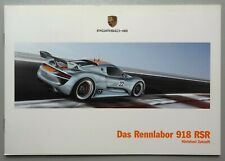 V14153 PORSCHE 918 RSR - CATALOGUE - 01/11 - 17x25 - D
