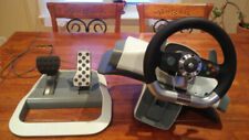 Microsoft Xbox 360 WRW02 Wireless Racing Wheel And pedals With Force Feedback