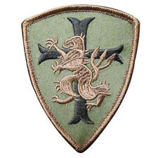USA Navy Seal 6 Devgru Lion Cross Crusader MORALE MILITARY Retro PATCH