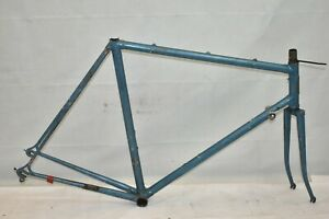 1983 Trek 760 Touring Road Bike Frame 58cm Large DuraAce Lugged Steel US Charity