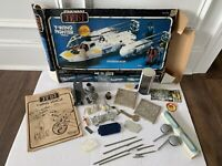 STAR WARS PARTS LOT Y WING BOX DEATH STAR YODA JABBA SHUTTLE KENNER VINTAGE 1983