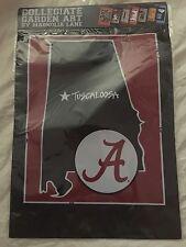 Magnolia Lane Collection Alabama Crimson Tide State Garden Flag