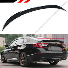 FOR 2018-2019 HONDA ACCORD JDM V TYPE PAINTED BLACK PEARL TRUNK LID SPOILER