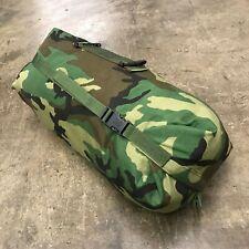 Nos Woodland Stuff Sack, Compression Bag, Us Army