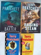 TERRY PRATCHETT BOOKS X 4 ALL NEW.