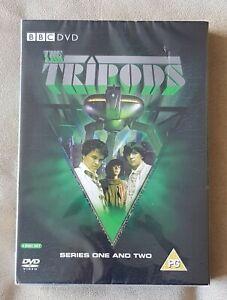NEW SEALED DVD - Tripods - Series 1-2 (DVD, 2009, 4-Disc Set) Boxset
