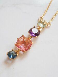 Les Nereides Halskette 4 Stones La Diamantine Multicoloured NP 80€