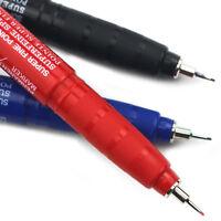 Pentel NMF50 Pennarello Indelebile - Super Sottile 1mm Punta - Nero Blu Rosso