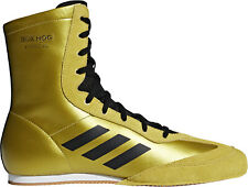 adidas Box Hog X Special Mens Boxing Shoes - Gold