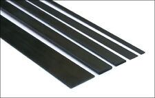 5x Short Lengths 10mm x 2mm x 200mm Pultruded Carbon Fibre Strips (S102-200)