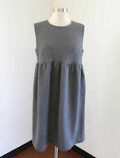 NWT Ann Taylor Loft Maternity Gray Quilted Sleeveless Dress Size 8 8M